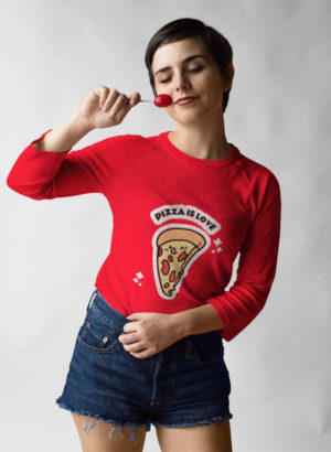 3/4th SLEEVE WOMEN TSHIRT 029