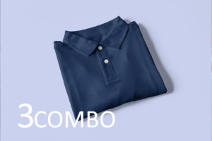 Men Polo Combo Tshirts  (Pack of 3)