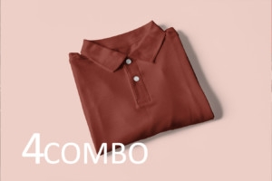 Men Polo Combo Tshirts  (Pack of 4)