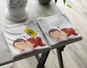 COUPLE TSHIRT 016