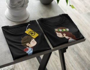 COUPLE TSHIRT 008