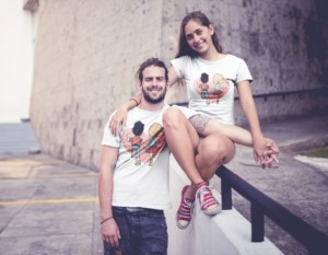 COUPLE TSHIRT 020